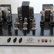 Amplificador Valvulado AcedoAudio HiFi 30+30W frente