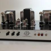 Amplificador Valvulado AcedoAudio HiFi 30+30W painel