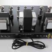 Amplificador Valvulado AcedoAudio HiFi 30+30W painel traseiro