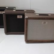 Gabinetes 1×12 AcedoAudio .Preto tela preta ,tweed e marrom velho tela champagne