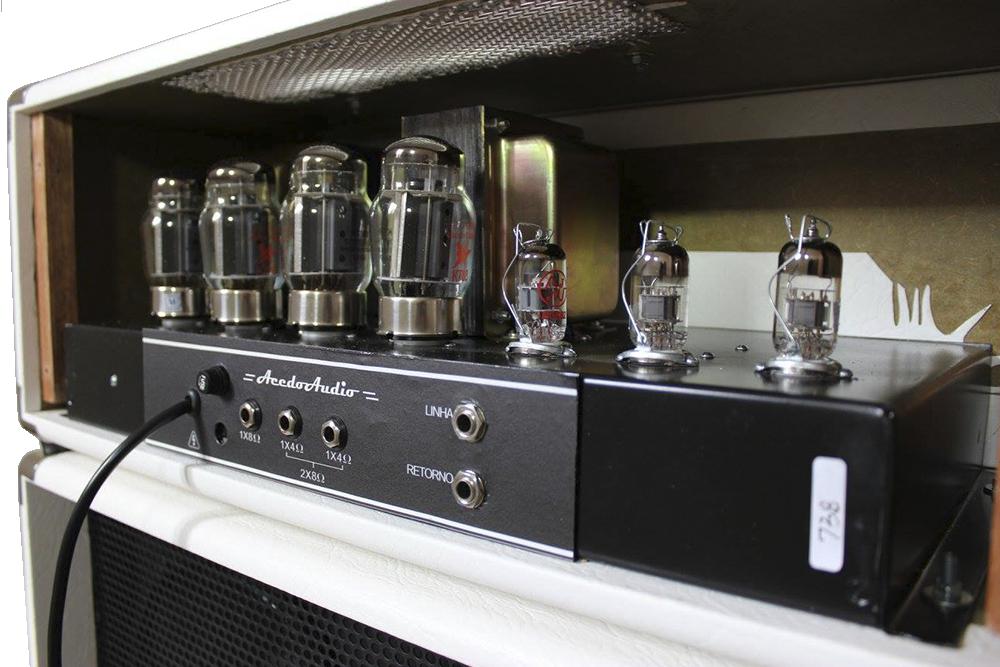 Amplificador valvulado modelo 322B AcedoAudio para contrabaixo ... b4fef3e962