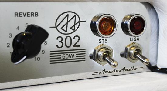 302: Amplificador Valvulado 50W