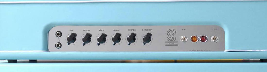 320: Amplificador Valvulado 100W