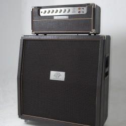Amplificador Valvulado AcedoAudio 290 cabeçote gabinete 4x12